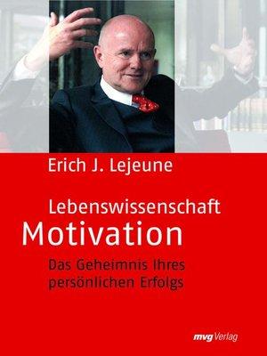 cover image of Lebenswissenschaft Motivation
