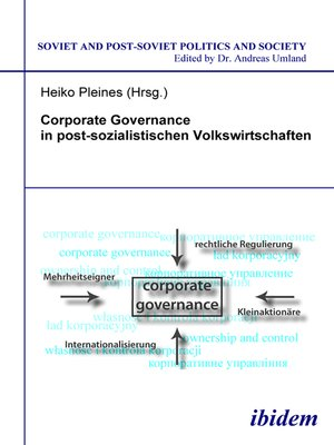 cover image of Corporate Governance in postsozialistischen Volkswirtschaften