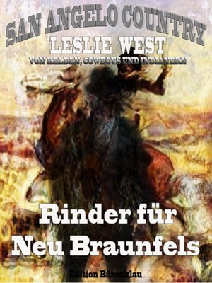 cover image of Rinder für Neu Braunfels (San Angelo Country 16)