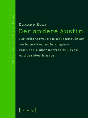 cover image of Der andere Austin