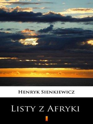 cover image of Listy z Afryki