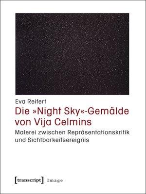 cover image of Die »Night Sky«-Gemälde von Vija Celmins