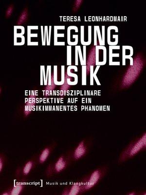 cover image of Bewegung in der Musik