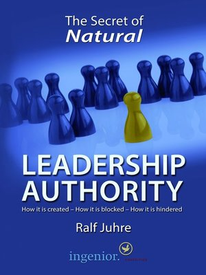 cover image of The Secret of Natural Leadership Authority