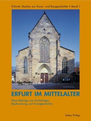 cover image of Erfurt im Mittelalter