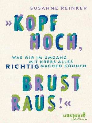 "cover image of ""Kopf hoch, Brust raus!"""