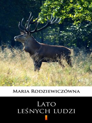 cover image of Lato leśnych ludzi