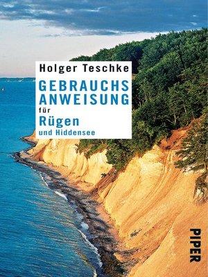 cover image of Gebrauchsanweisung für Rügen und Hiddensee