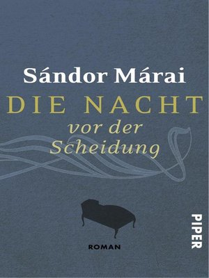 cover image of Die Nacht vor der Scheidung