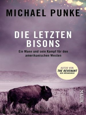 cover image of Die letzten Bisons