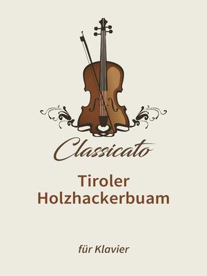 cover image of Tiroler Holzhackerbuam
