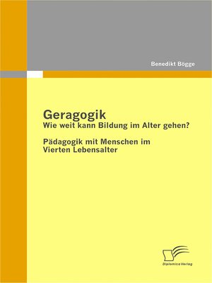 cover image of Geragogik
