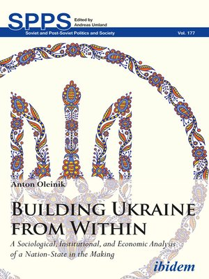 cover image of Building Ukraine from Within