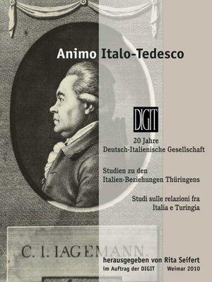 cover image of Animo italo-tedesco