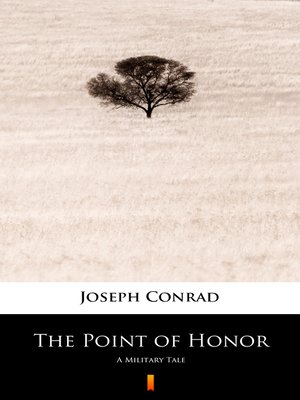 cover image of The Point of Honor