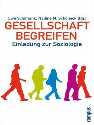 cover image of Gesellschaft begreifen