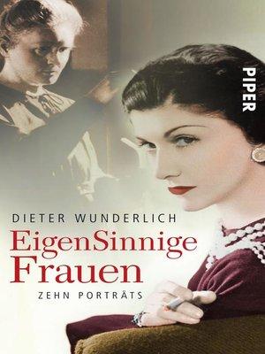 cover image of EigenSinnige Frauen