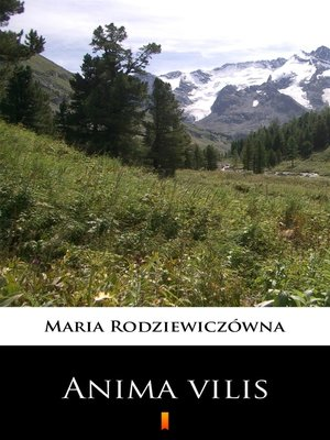 cover image of Anima vilis