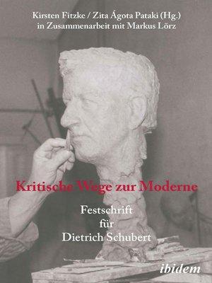 cover image of Kritische Wege zur Moderne