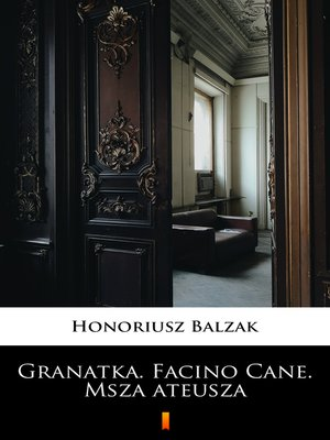 cover image of Granatka. Facino Cane. Msza ateusza