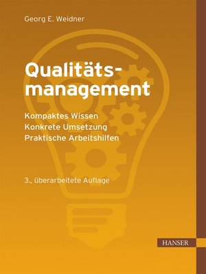 cover image of Qualitätsmanagement