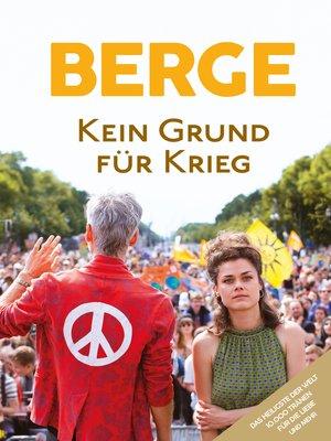 cover image of Kein Grund für Krieg