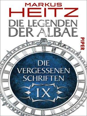 cover image of Die Vergessenen Schriften 9