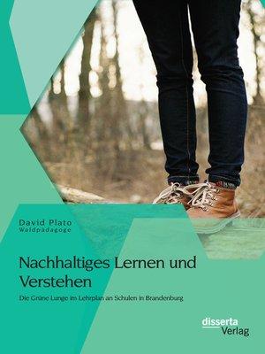 cover image of Nachhaltiges Lernen und Verstehen