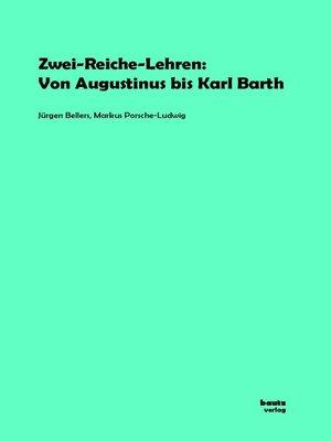 cover image of Zwei-Reiche-Lehren