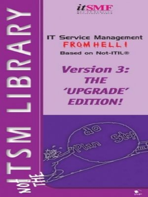 cover image of IT Service Management from Hell based on Not ITIL