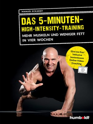 cover image of Das 5-Minuten-High-Intensity-Training