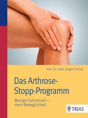 cover image of Das Arthrose-Stopp-Programm