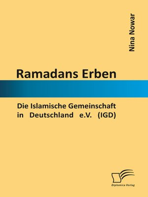 cover image of Ramadans Erben