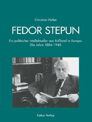 cover image of Fedor Stepun