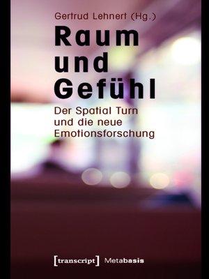 cover image of Raum und Gefühl
