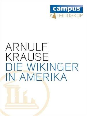 cover image of Die Wikinger in Amerika