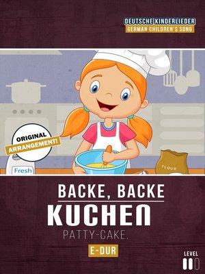 cover image of Backe, Backe Kuchen