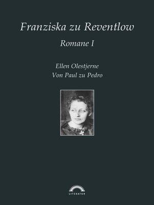 cover image of Franziska Gräfin zu Reventlow