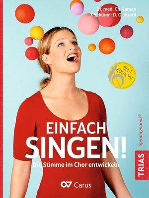 cover image of Einfach singen!