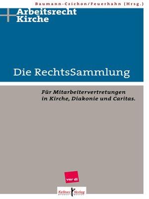 cover image of Die RechtsSammlung