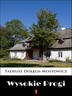 cover image of Wysokie Progi