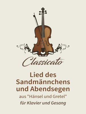 cover image of Lied des Sandmännchens und Abendsegen