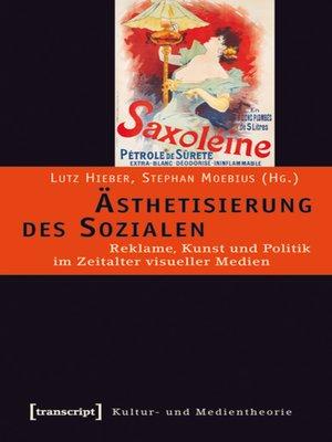 cover image of Ästhetisierung des Sozialen