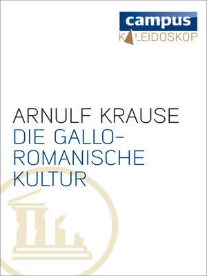 cover image of Die gallo-romanische Kultur