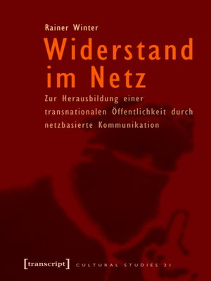 cover image of Widerstand im Netz