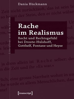 cover image of Rache im Realismus