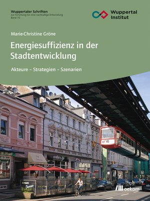 cover image of Energiesuffizienz in der Stadtentwicklung