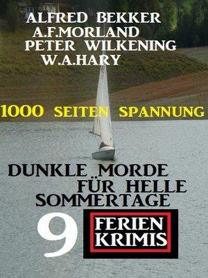 cover image of Dunkle Morde für helle Sommertage