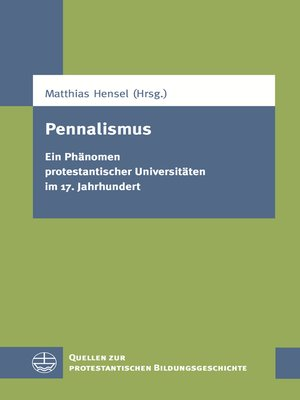 cover image of Pennalismus