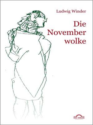 cover image of Die Novemberwolke